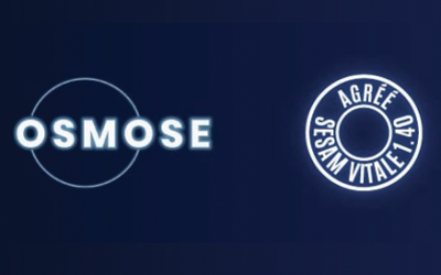 OSMOSE agréé SESAM-Vitale 1.40